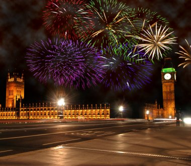 New Year in London