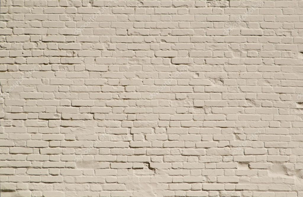 Old Brick Wall Painted White Stock Photo A2bb5s 6886099