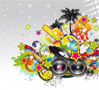 music event background for flyers or posters