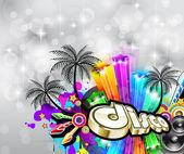 Fényképek disco szórólap crhstimas disco party