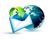 Fényképek Globális szállítás és E-mail kommunikáció