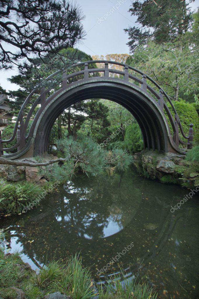 Puente de madera en el jard n japon s en san francisco for Jardin japones hagiwara de san francisco
