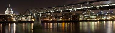 Saint Paul's Cathedral and the Millennium Bridge