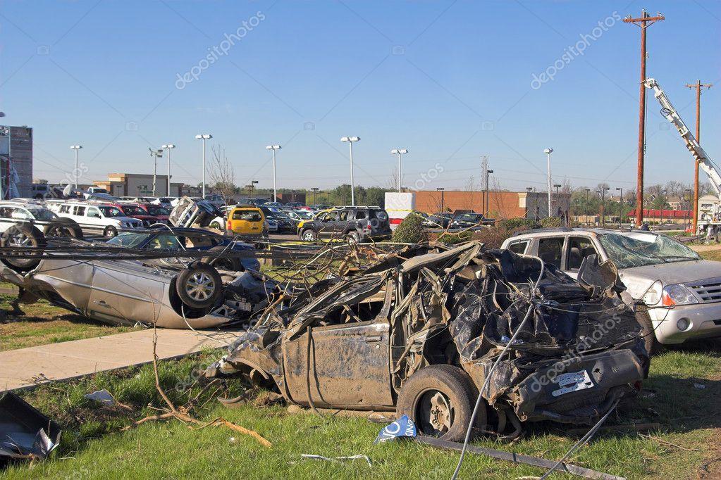 Car Dealrship Destroyed
