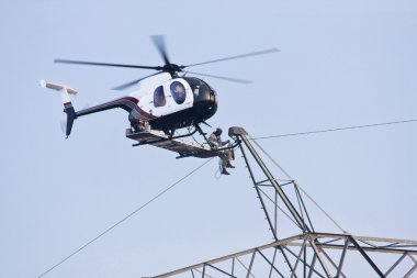 Helicopter High Lines Construction