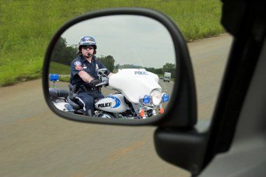 Police Motorcycle Cop