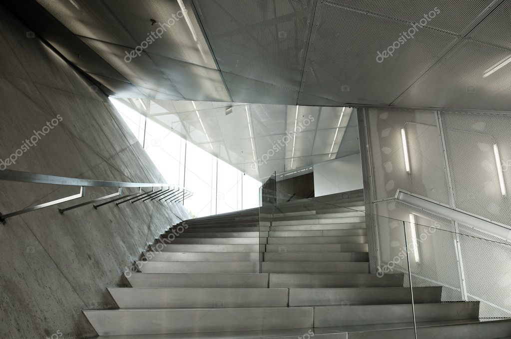 détail intérieur architecture contemporaine — Photographie ...