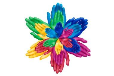 Palm flower-2