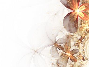 Soft fractal flowers