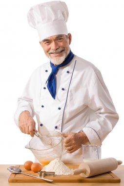 Male baker