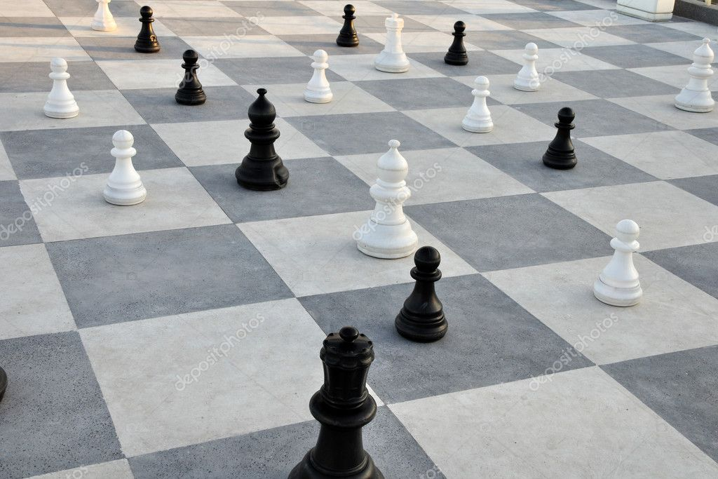 Chess in the Sea Garden of Burgas
