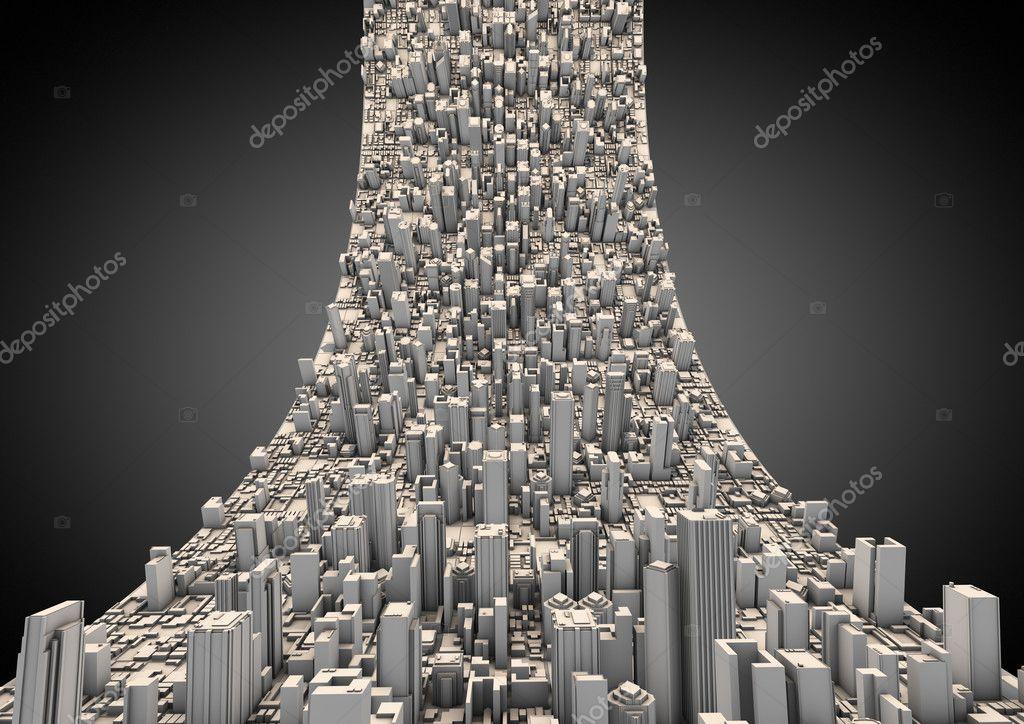 three dimensional urban green volume - 622×440