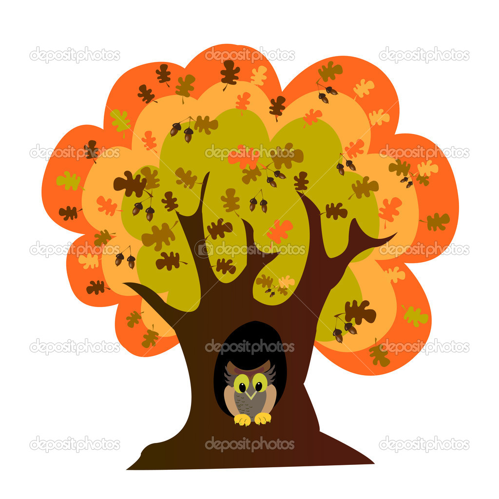 Black and white cartoon trees free vector download 26779