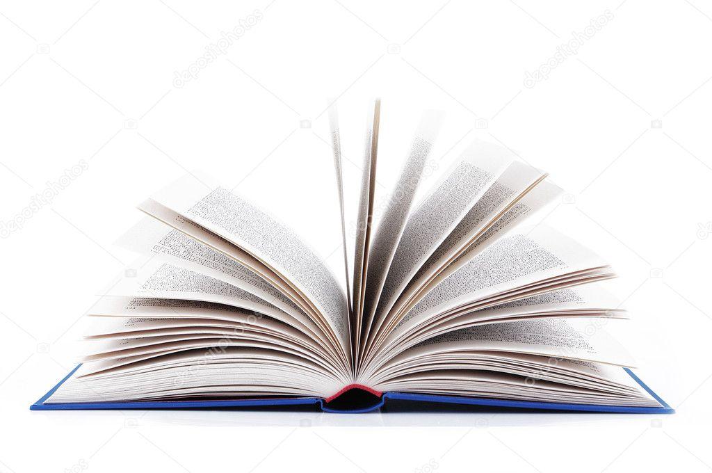 Le Livre Bleu Ouvert Photographie Orlando B C 7191846