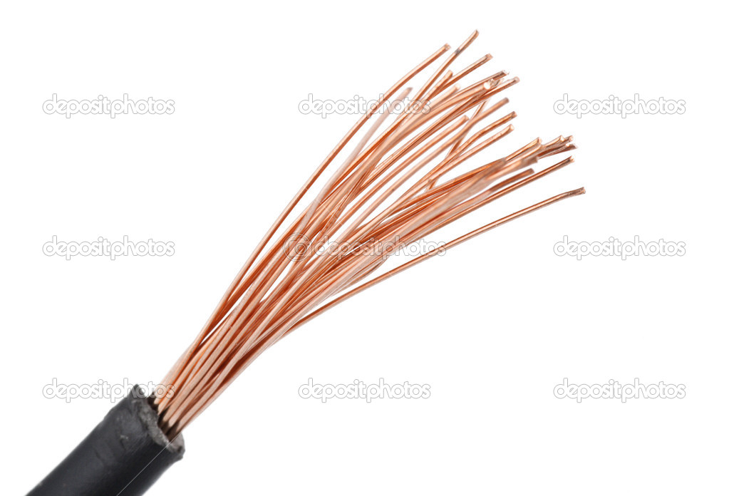 elektrischer Draht — Stockfoto © Orlando.B #7202819