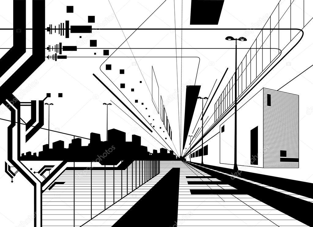 Architectural modern design