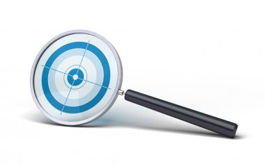 Special magnifying glass for special research