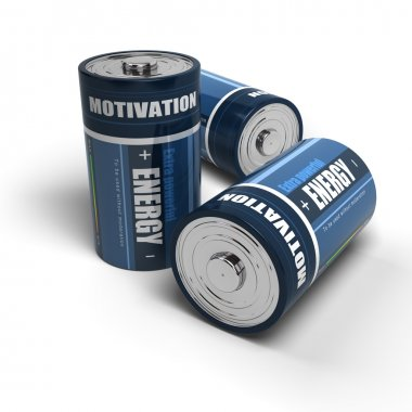 Business motivation - Energy for successful job or life