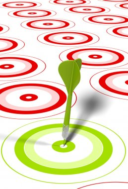 Hitting objectives or goals