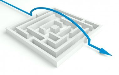 3d Maze Solved, Smart Solution