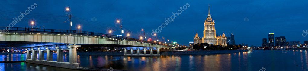 Novoarbatskiy bridge, Moscow