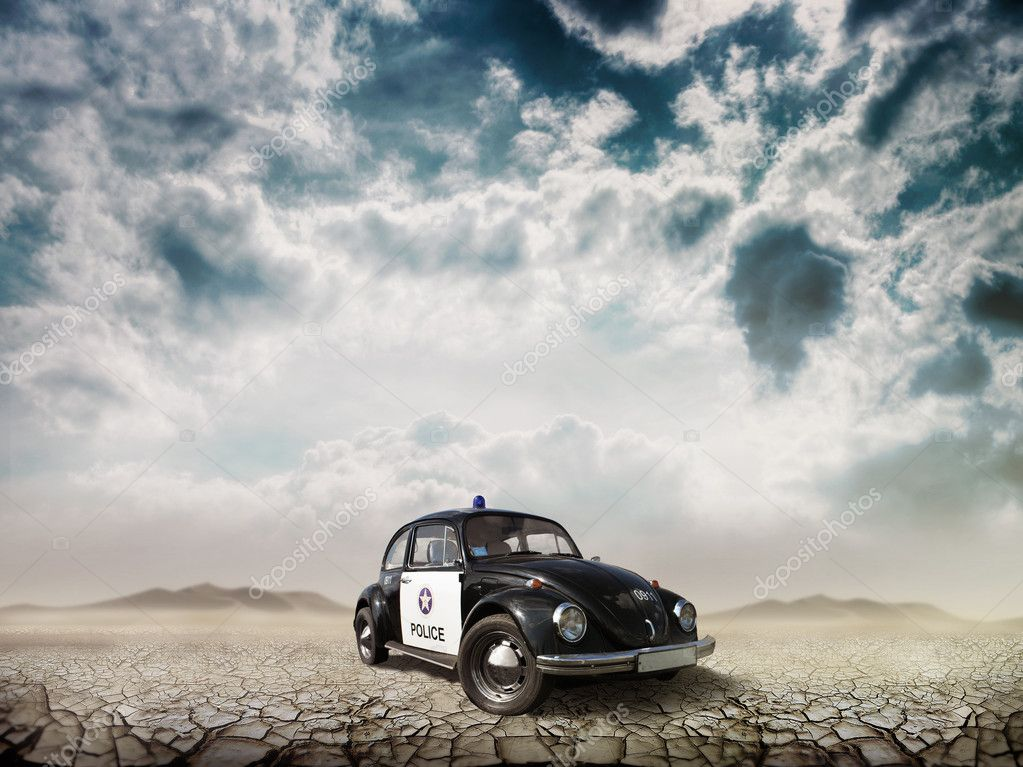 Car Beetle in the Desert
