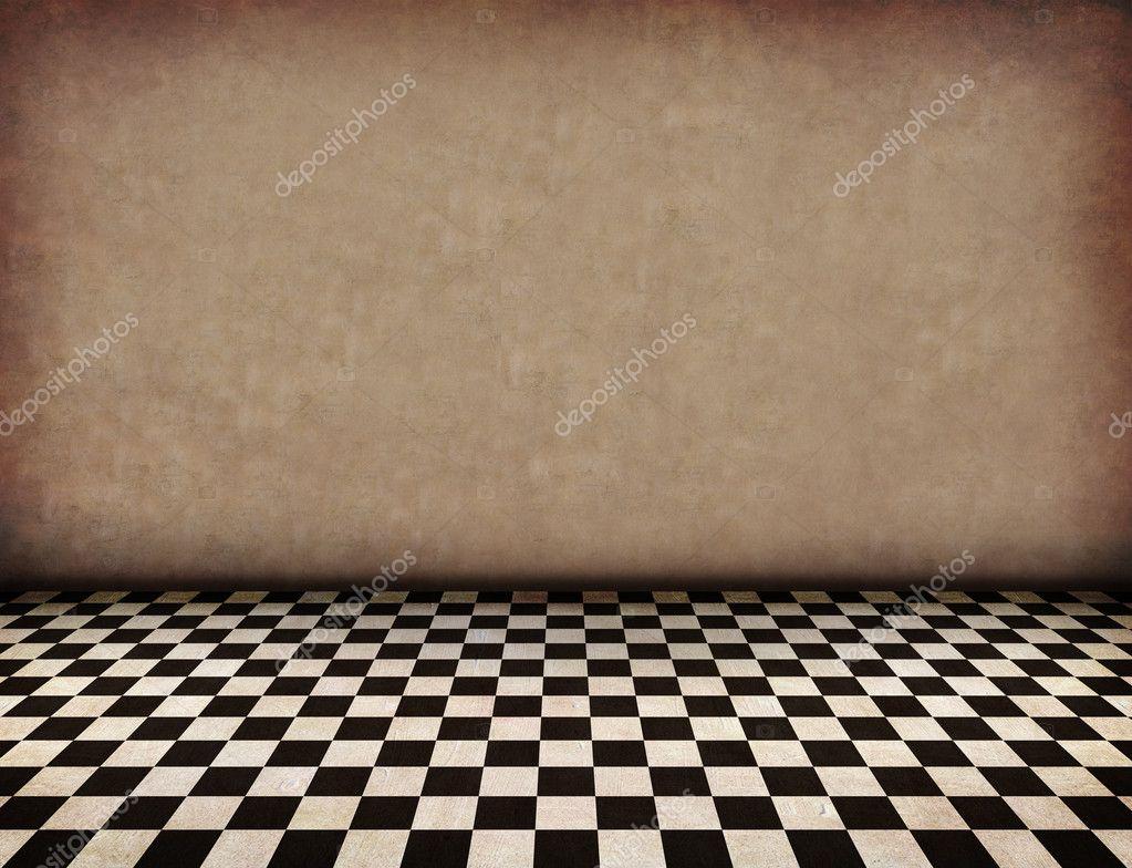 Incrinato retrò vecchio pavimento in piastrelle texture di sfondo