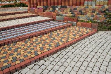Cobblestone steps