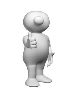 Logoman thumb up