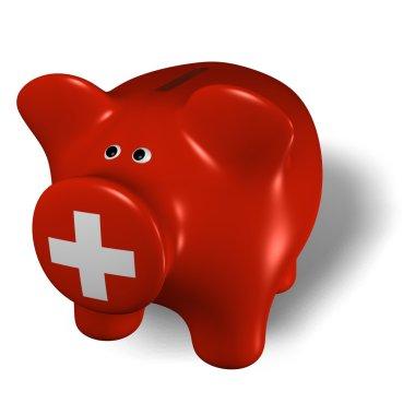 Piggy bank - Switzerland