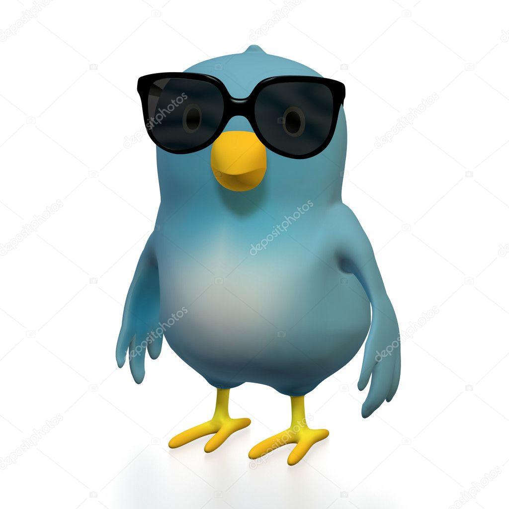 Bluebert with sunglasses