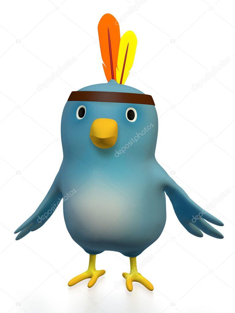 Bluebert as Indian