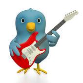 Fotografie Bluebert mit e-Gitarre
