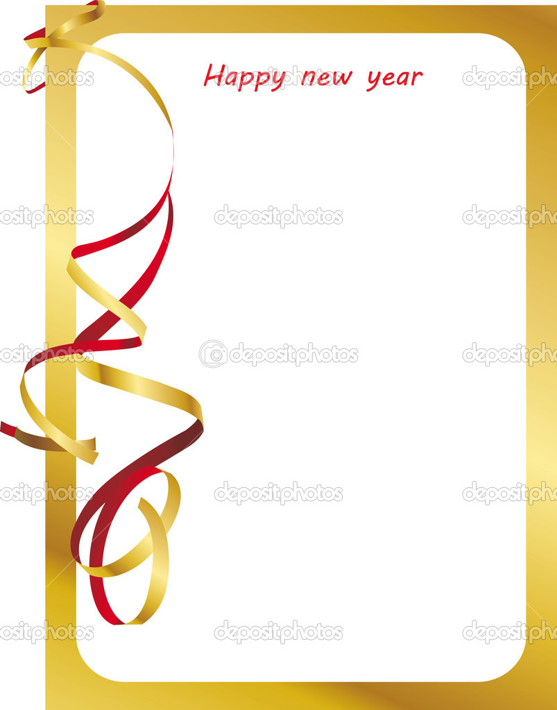 New Year, Christmas, holiday frames, background, banner — Stock ...
