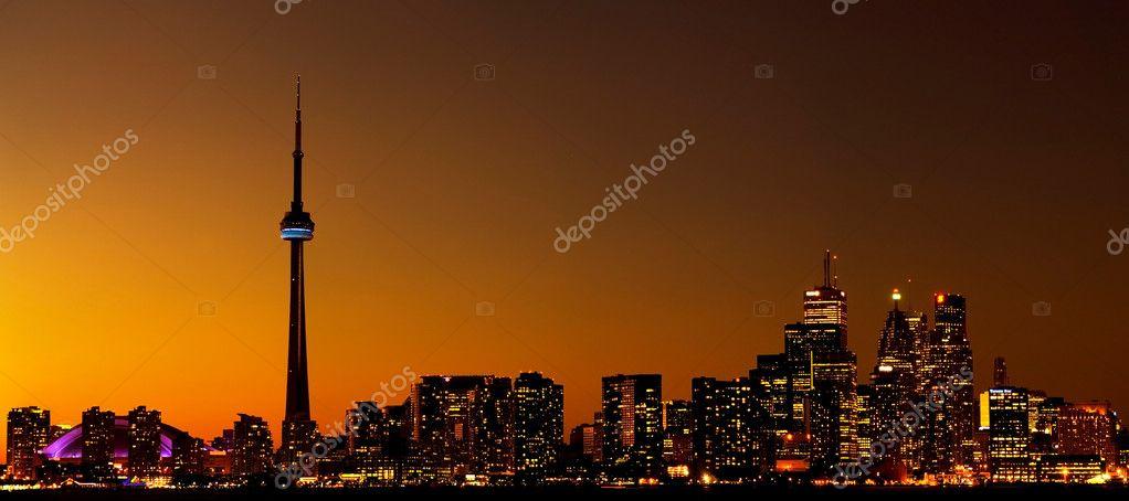 Toronto cityscape downtown