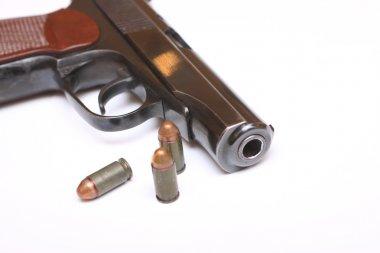 A gunshot wound