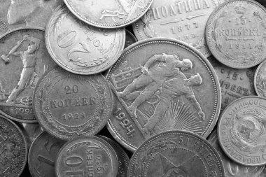 Silver antique coins