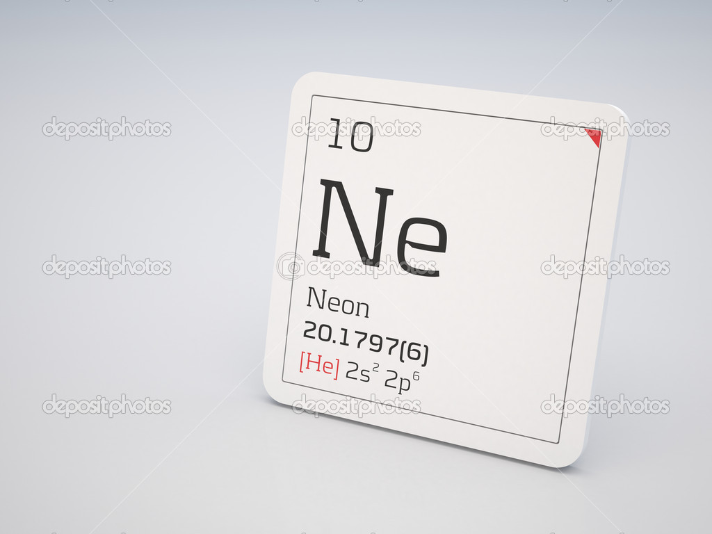 Neon symbol ne stock photo conceptw 6987503 neon element of the periodic table photo by conceptw buycottarizona Images