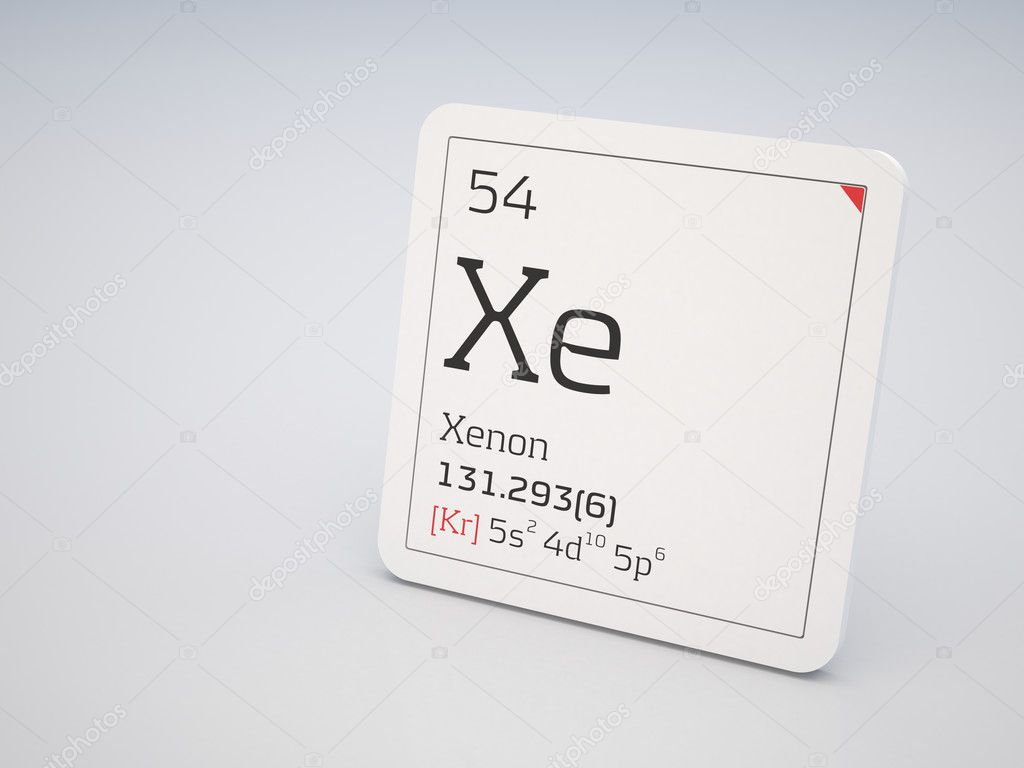 Xenon smbolo xe fotos de stock conceptw 6987524 xenon elemento de la tabla peridica foto de conceptw urtaz Image collections