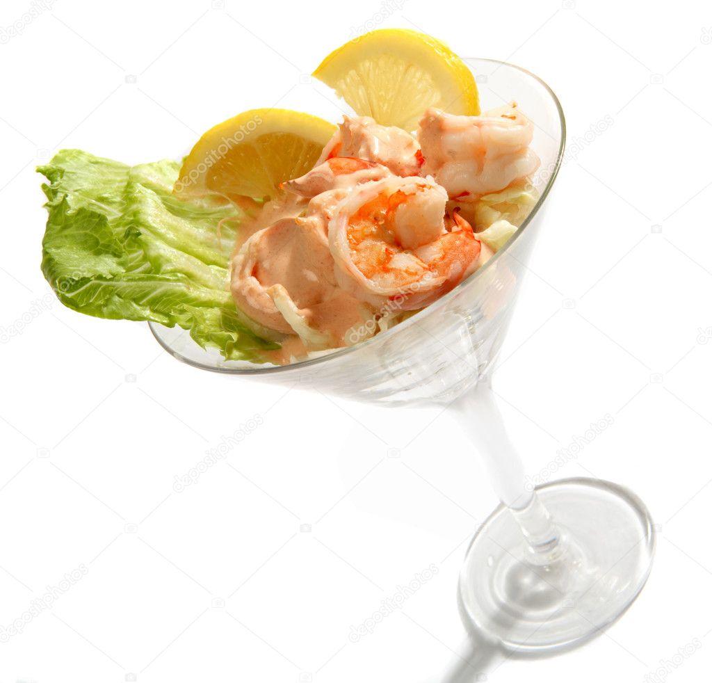 garnelen-cocktail — Stockfoto © Paul_Cowan #7057425