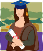 Photo Mona Lisa Graduate