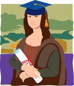 Fotografie Mona Lisa Graduate