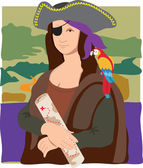 Photo Mona Lisa Pirate