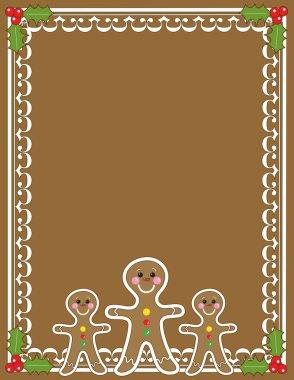 Gingerbread Man Border