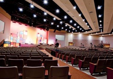Interior of Church in Florida