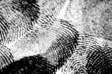 Black Ink Fingerprints