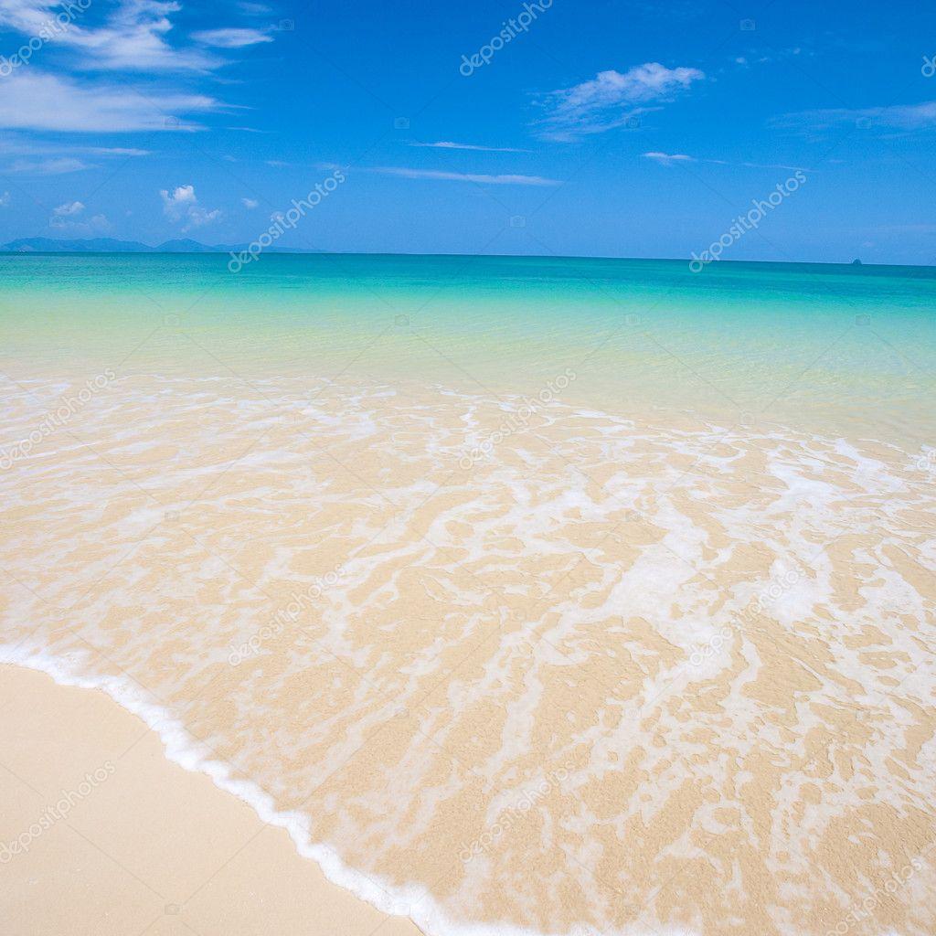 Beautiful ocean view of the sea