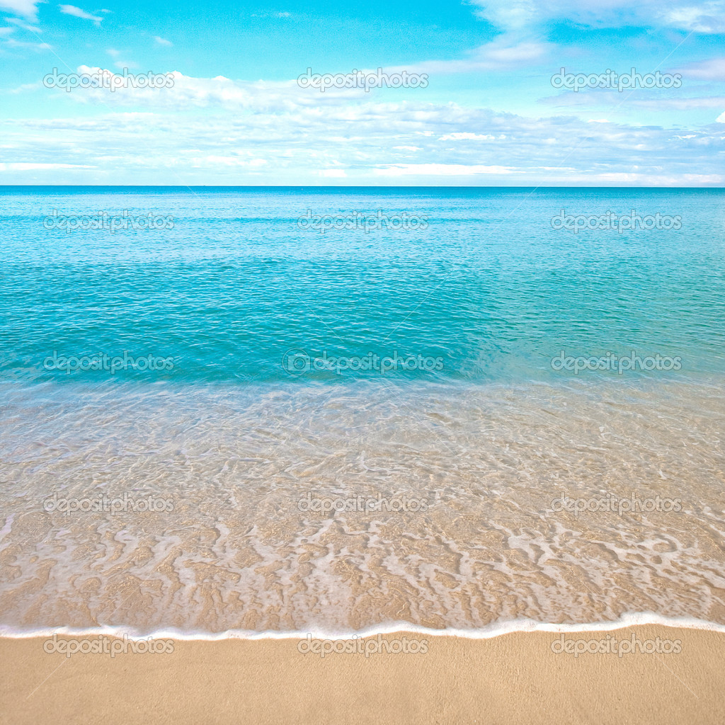 Sandy Beach: Stock Photo © Mayangsari #7243367
