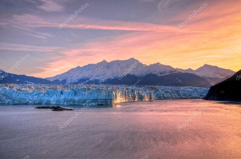 Sunrise & Hubbard Glacier