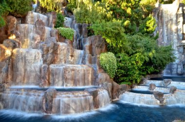 Las Vegas - Wynn Waterfall